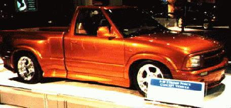 S Xtreme on 1999 Chevy S10 Paint